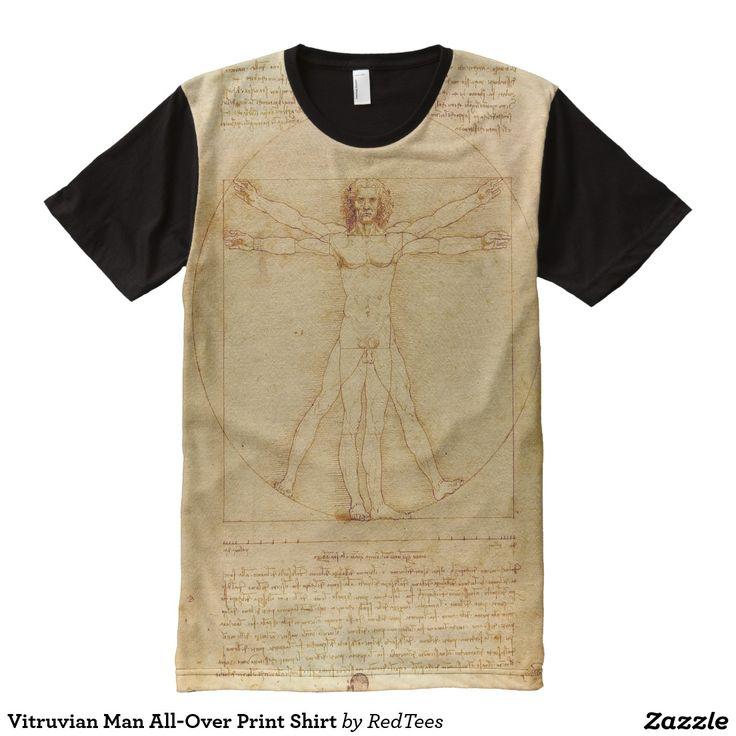 Vitruvian Man All-Over Print Shirt