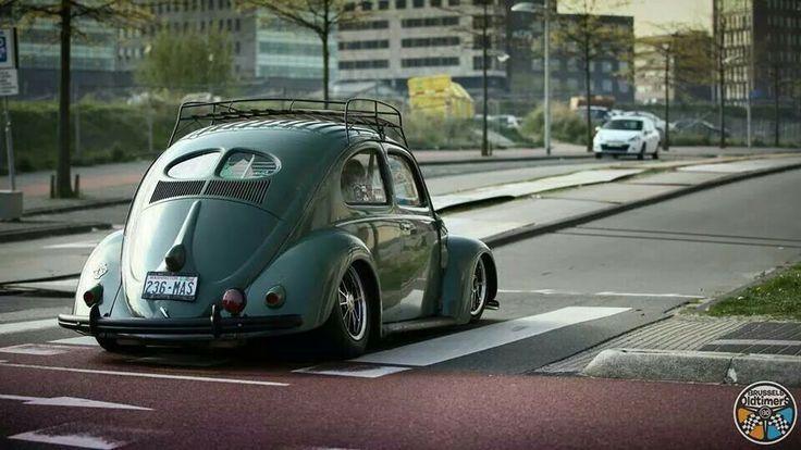 Slammed Vw beetle Split Window | Old bugs | Pinterest | Photos, Vw beetles and Beetle