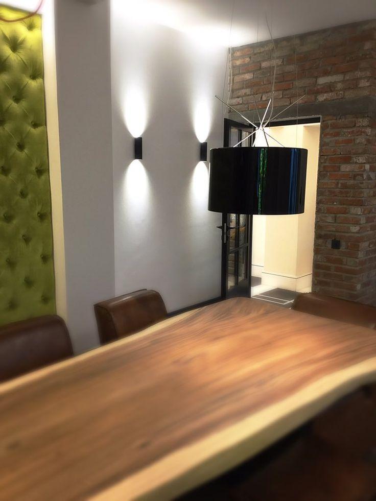"Simona Rizzi on Twitter: ""#interiordesign by Simona Rizzi! With #flos #pendantlight #designersguild #velvet #walllight and original #brickwall https://t.co/1PGJeLCyjh"""