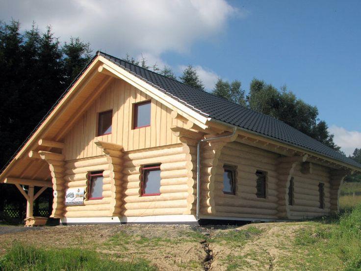 Pin von vg auf naturstammhaus in 2019 blockhaus bauen for Minimalistisches haus