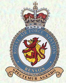 RAF Station BENSON. Location, County: Oxfordshire