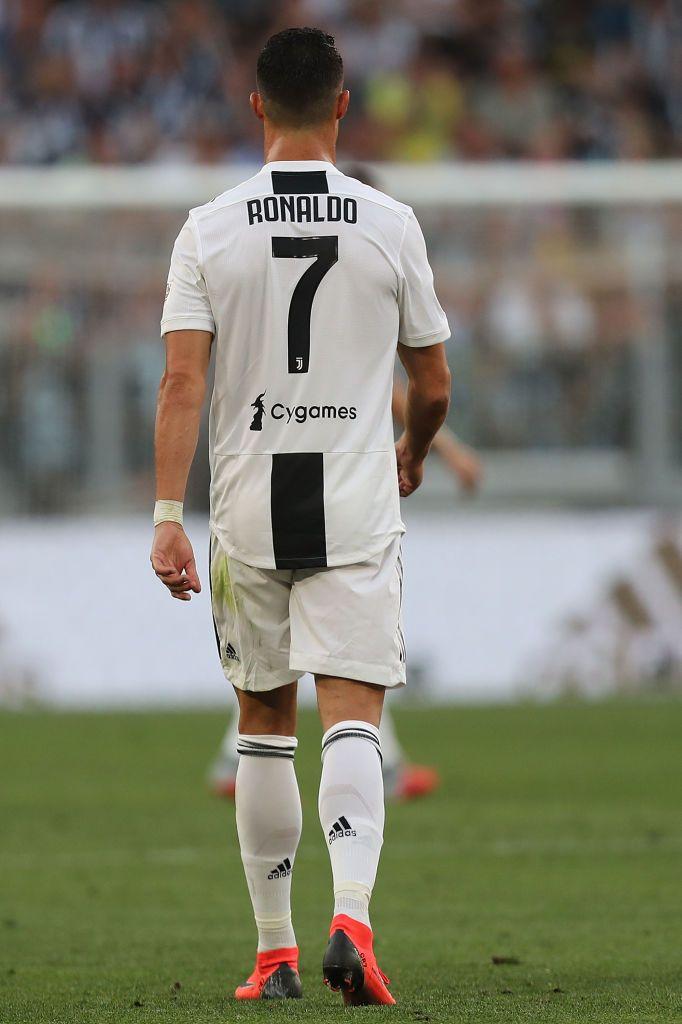 Cristiano Ronaldo Of Juventus During The Srie A Match Between With Images Ronaldo Ronaldo Juventus Christano Ronaldo