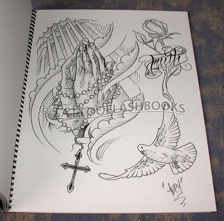 Religious tattoo drawings com abey alvarez abey for Tattoo reference books