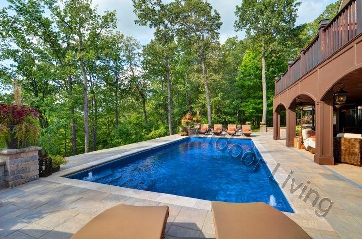26 Best Palm Beach Style Fiberglass Pools Images On Pinterest Luxury Pools Palm Beach Styles