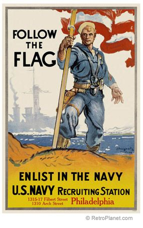 U.S. Navy Enlisting Poster