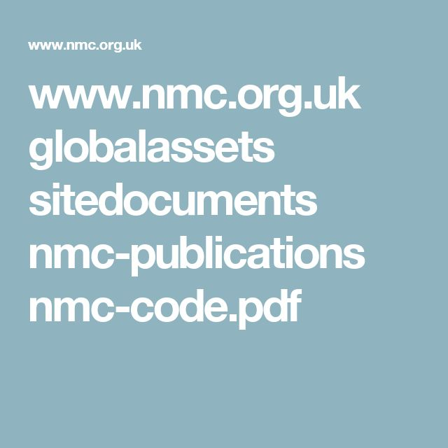 www.nmc.org.uk globalassets sitedocuments nmc-publications nmc-code.pdf