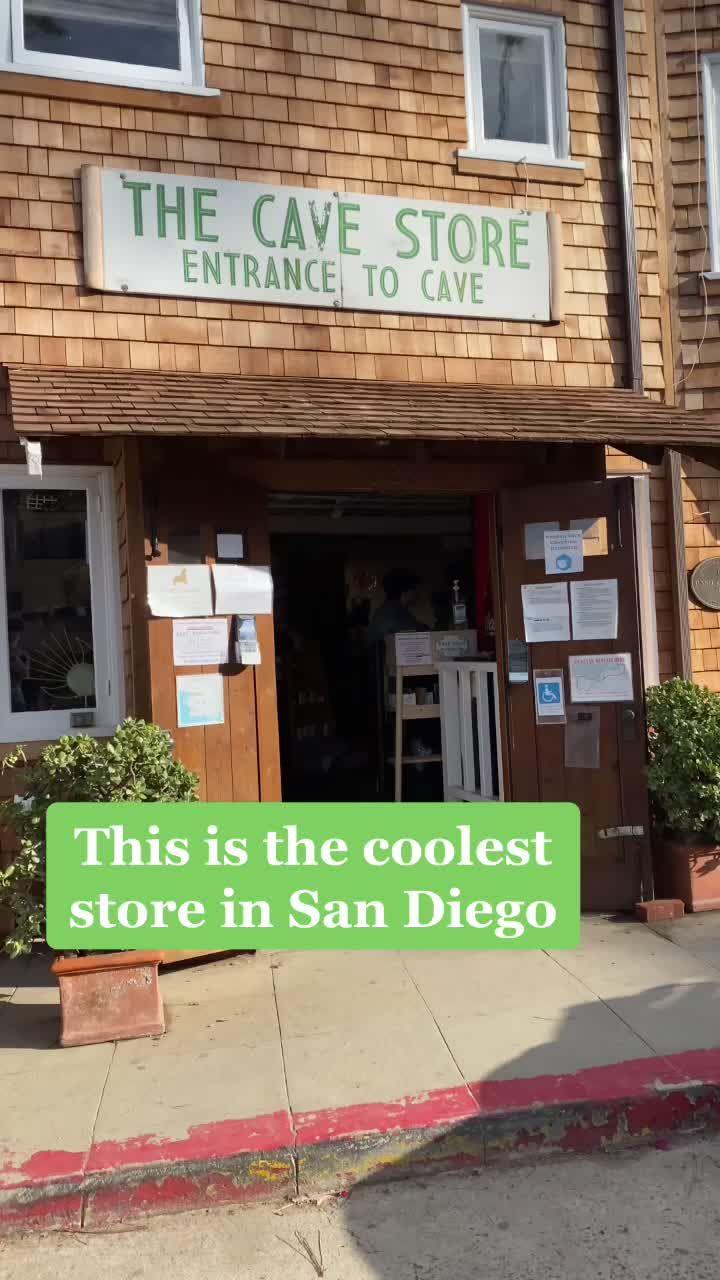 San Diego Bucket List Sdbucketlist On Tiktok The Cave Store La Jolla Fyp Sandiego Smallbusiness Cali San Diego Bucket List Store Entrance La Jolla