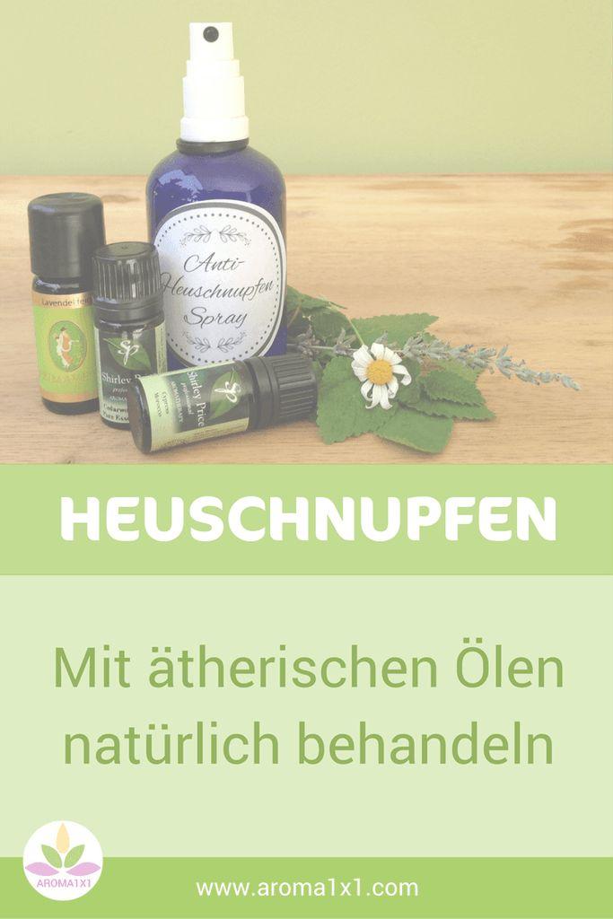 Ätherische Öle können helfen, Heuschnupfen Symptome zu mildern und das Immunsystem zu regulieren. Hier findest du Rezepte und Tipps, wie du Heuschnupfen mit ätherischen Ölen unterstützend behandeln kannst.