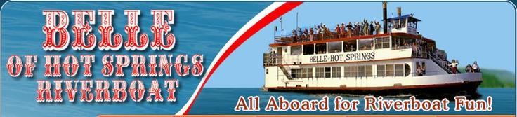 Belle of Hot Springs Riverboat