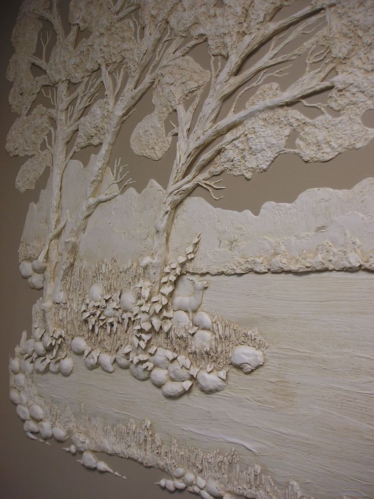 architectural relief plaster high relief wall sculpture