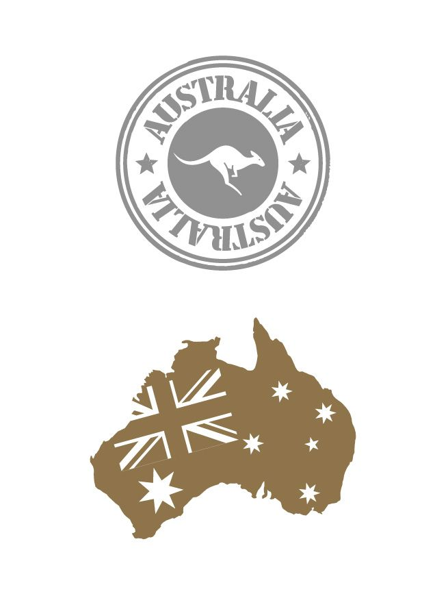 """GET SHIMMERED with a selection from 'Southern Skies' - """"The Australia Collection"""" in time for Australia Day - Gold & Silver Metallic Tattoos from www.shimmertattoo.com.au @shimmer.tattoo #showyourshimmer #shimmerAD15 Australian Flag/Map + Australian Seal with Kangaroo"""