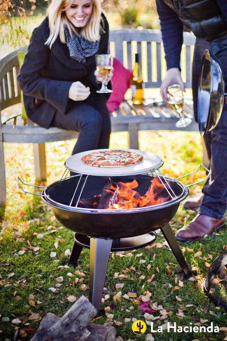 #Pizza Firepit from La Hacienda - perfect for cooking with @cambshotlogs #pizza and #BBQing #food in your #garden