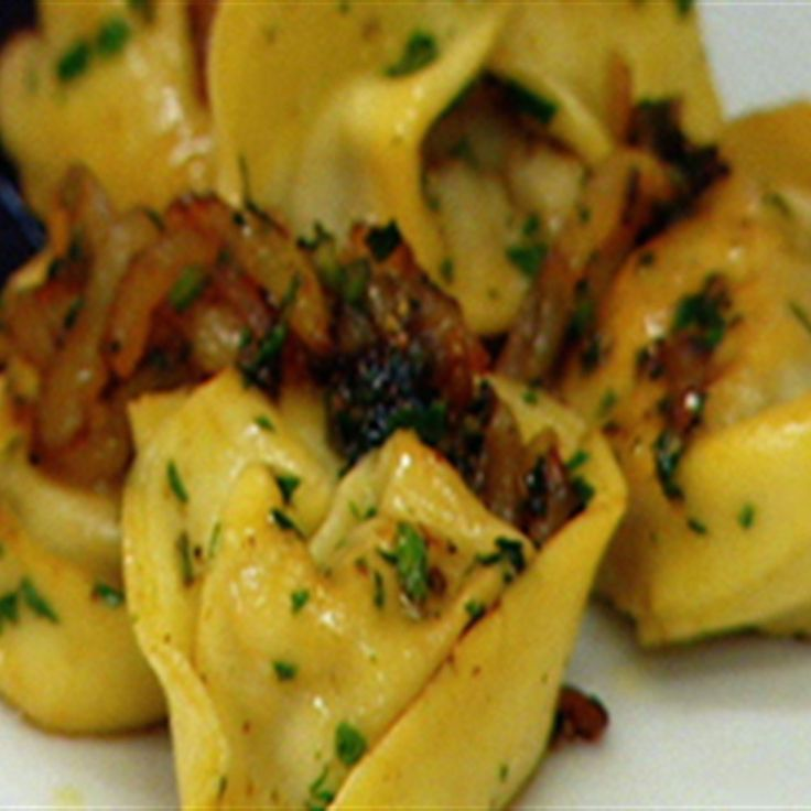 Try this Tortellini di Anitra e funghi con Pera recipe by Chef Guy Grossi. This recipe is from the show Short Orders.