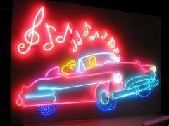 Let There Be Neon: amazing shop in New York. They made this for Trash and Vaudeville