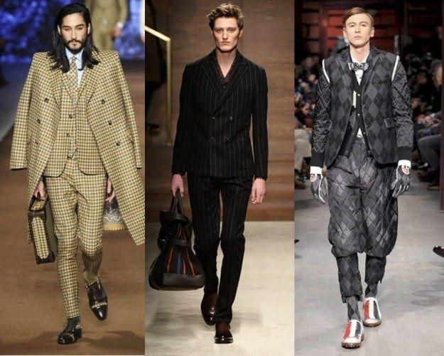 The Charm of Luxury: Trends moda uomo per l'Autunno-Inverno 2014-2015
