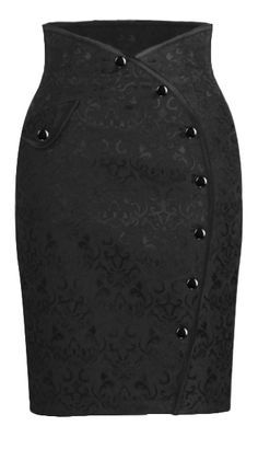 Side button Skirt - Chic Star desgin by Amber Middaugh