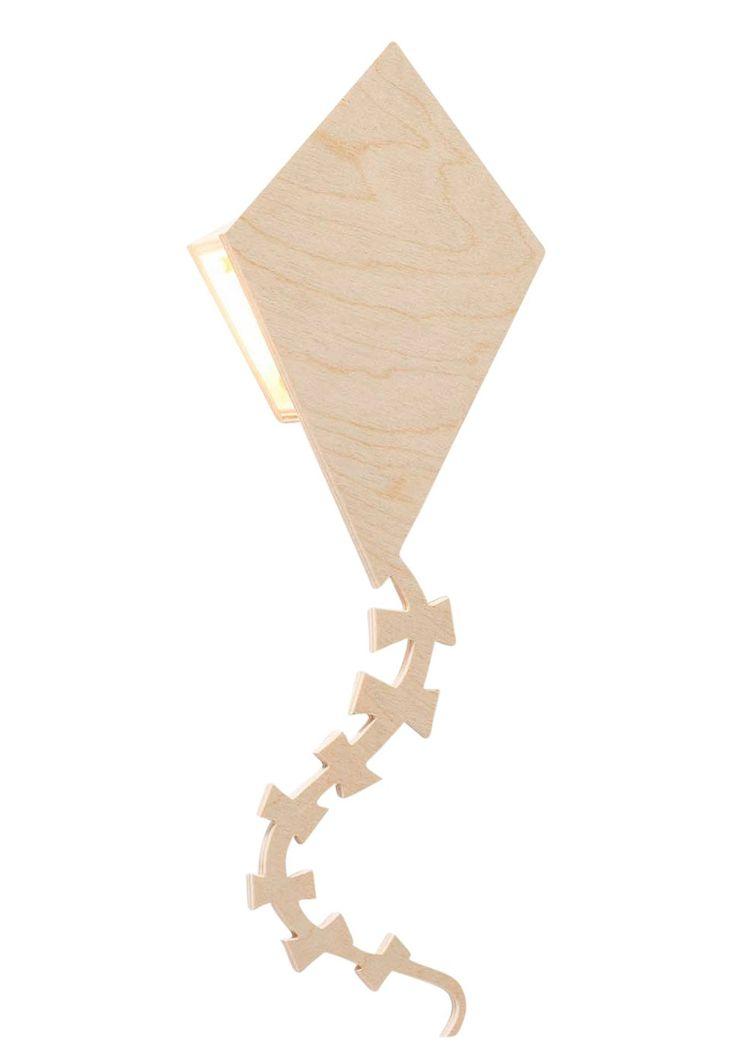 Miniwoo wandlamp vlieger