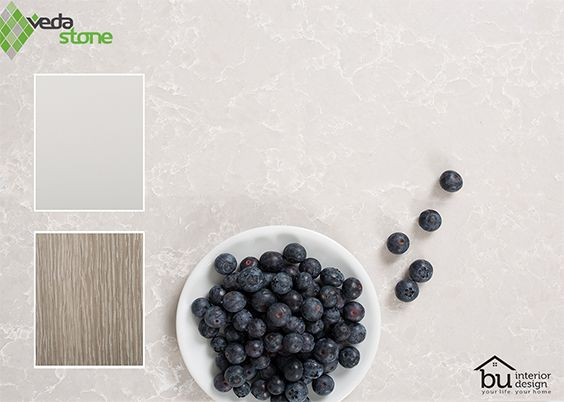 Noble Olympos Mist is a luxurious pearl colour, perfect for a Hamptons Style look.