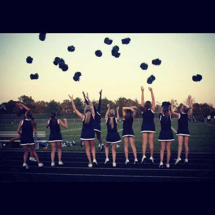 I want to take a picture like this with my team!
