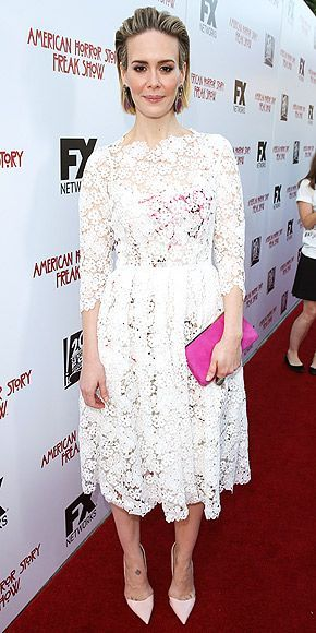 Nice Red Carpet Fashion Last Night's Look: Love It or Leave It? Vote Now! | SARAH PAULSON | in a she... Check more at http://24myshop.tk/my-desires/red-carpet-fashion-last-nights-look-love-it-or-leave-it-vote-now-sarah-paulson-in-a-she/