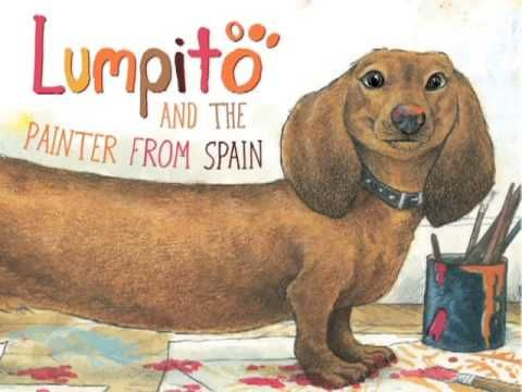 ▶ Lumpito and the Painter from Spain Trailer (Monica Kulling, illus. Dean Griffiths)