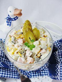 Ala piecze i gotuje: Sałatka z ryżem i kukurydzą