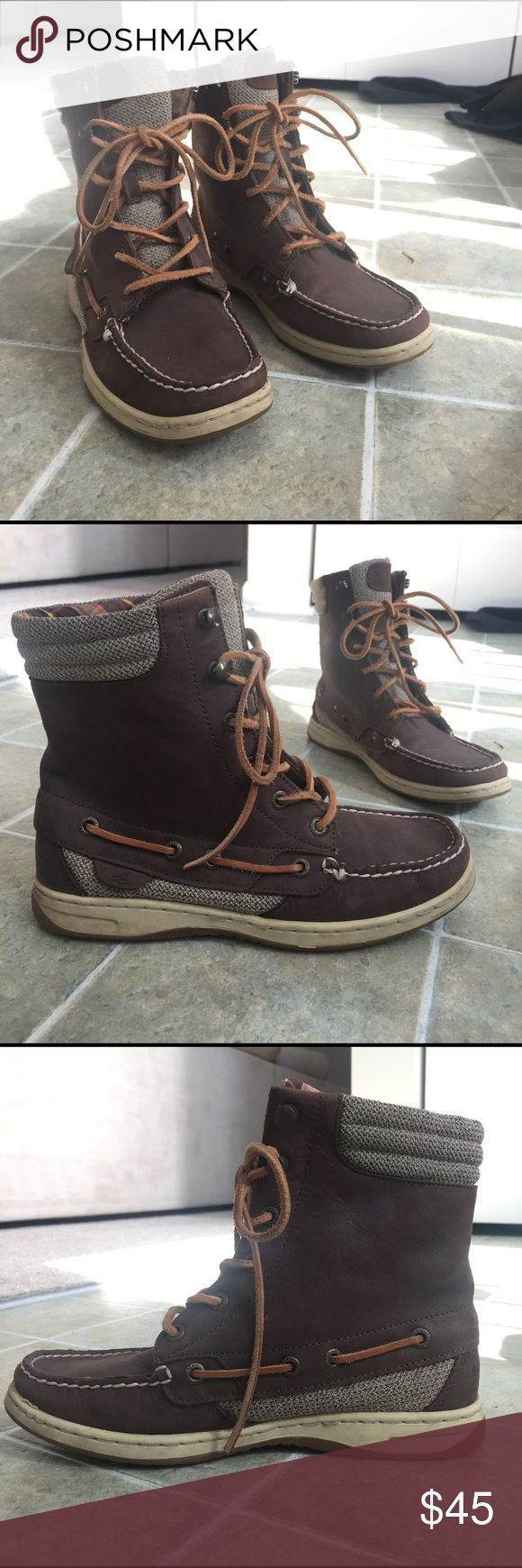 Sperry Top-Sider boots size 7 Worn once, excellent condition! Very comfortable! Sperry Top-Sider Shoes Ankle Boots & Booties