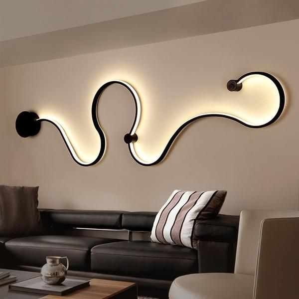 Nordic Creative Wall Light Led Bedroom Decoration Living Room