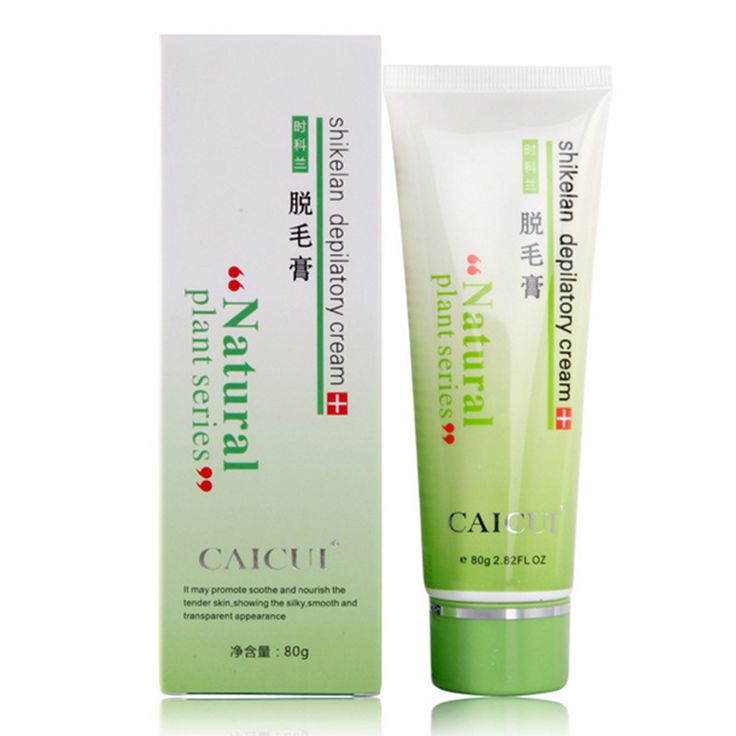 1pcs CaiCui Depilatory Cream Armpit Hair Leg Removal Body Hair Anti-Allergy Painless Depilatory Cream Natural Plants Extract