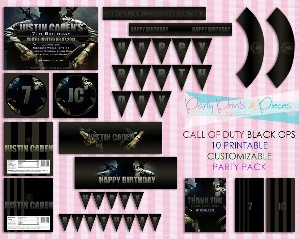 Snap free printable call of duty birthday invitations birthday 78 best images about call of duty birthday party on pinterest zombie birthday parties filmwisefo