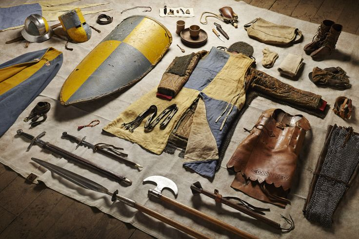 """Photos of """"Soldiers' Inventories"""" Showcase 1,000 Years of Fighting Gear"""