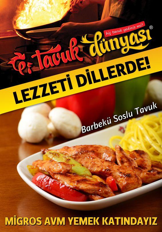 Öğle arasına lezzetli bir mola! Tavuk Dünyası'nın enfes lezzetlerini denediniz mi?