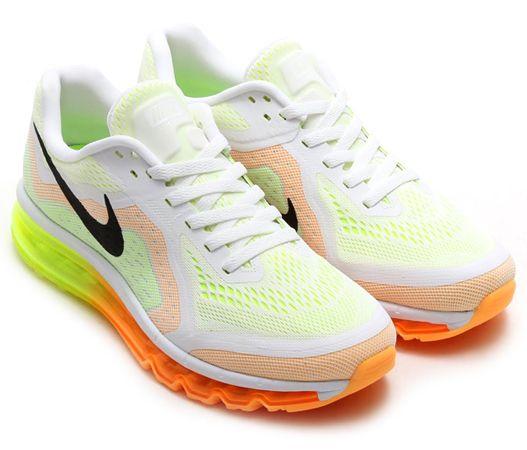 Nike Air Max 2014 - White/Atomic Mango/Volt
