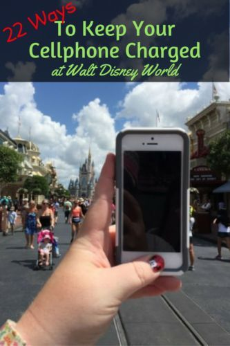 With the introducing of the MyDisneyExperience app, cell phones are an even more vital part of your Disney vacation. It is important to make sure that your phone has enough battery to complete everything you need it to do to in a day.
