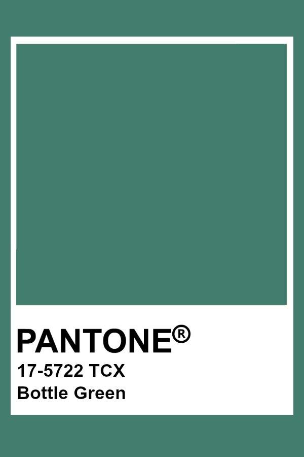 Pantone Bottle Green Pantone Colour Palettes Pantone Color Green Colour Palette