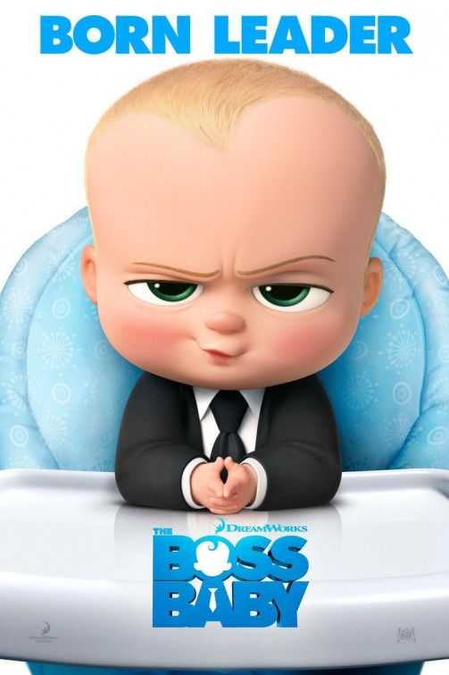 The Boss Baby Movie Poster (#1 of 5) - IMP Awards