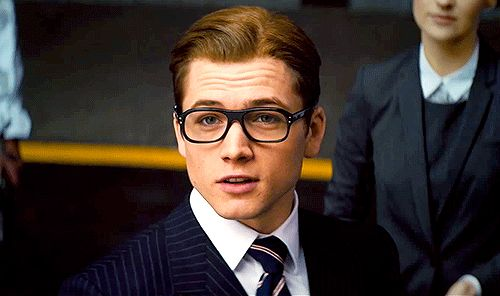 Pin for Later: Taron Egerton Is Kingsman: The Secret Service's Breakout Star Eventually, he dons a suit and glasses, and it's almost too much. But it's not. It's just enough.