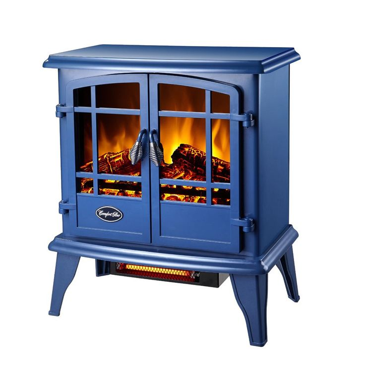 Keep warm next to the CG Keystone Quartz Electric Stove. The compact design is perfect for heating bedrooms or small apartments.