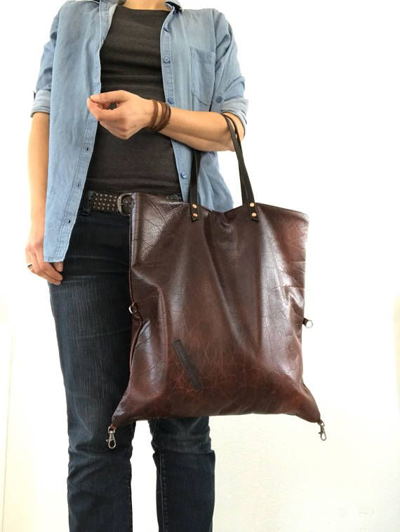 Hey, I found this really awesome Etsy listing at https://www.etsy.com/listing/547063766/burgundy-distressed-leather-tote-bag
