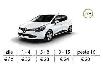 Oferta inchirieri masini Timisoara Renault Clio 2017
