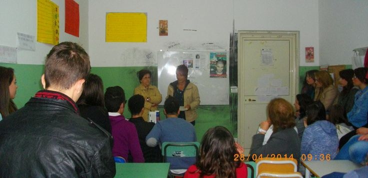 28 aprile 2014 Liceo Tommaso Campanella Lamezia Terme CZ  http://www.fabriziocatalano.it/storia-di-unattesa-senza-resa-incontra-gli-studenti/