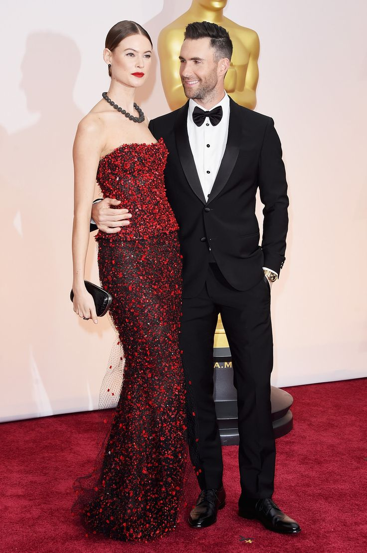 Amal and george clooney costume institute gala red carpet