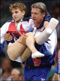 Kerri Strug. 1996 Olympics.