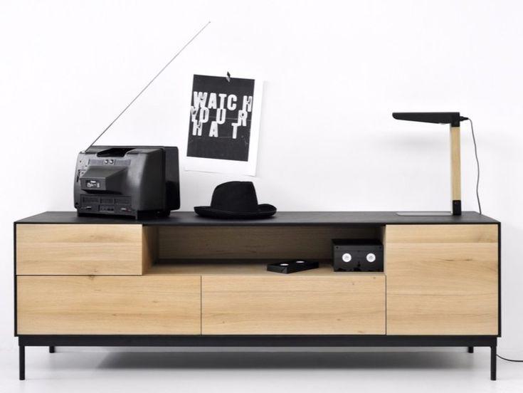 Oak TV cabinet OAK BLACKBIRD | TV cabinet by Ethnicraft