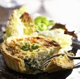 Goat cheese quiche, Cheese quiche and Quiche on Pinterest