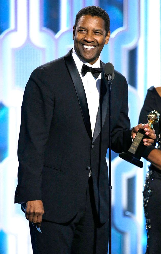 73rd Annual Golden Globe Awards - Denzel Washington WON the Cecil B. DeMille Award for his contributions and work in the film industry at the ceremony on January 10, 2016.