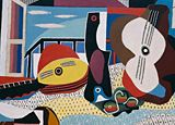 Pablo Picasso, Mandolin and Guitar (Mandoline et guitare), Juan-les-Pins, 1924