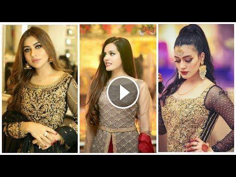 c2969f547941 Latest Designer Top Class Of party wear Dresses 4 Girls   Women women  clothes 2019 Fashion Beauty. New. Latest. Designer. Stylish dresses La…