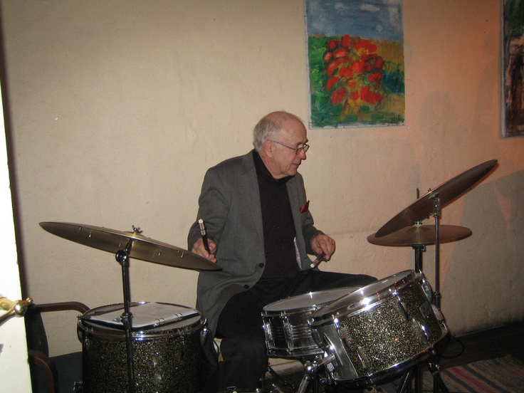 Janne Franzén-Drums Photo Hans Jung http://www.opusnorden.com/se/jazzsv/rfquartet/janfranzen