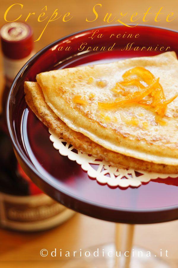 Crepes Suzette - Diario di Cucina. Expat-Mamma in Francia. La crepes suzette non è semplicemente al grand marnier. E non è neanche flambé e con questa ricetta si possono preparare in anticipo.
